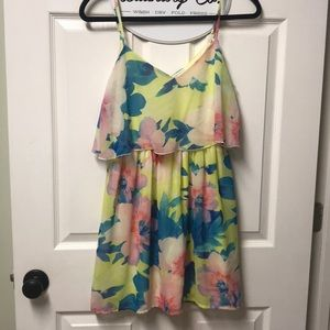 Charlotte Russe Bright floral dress